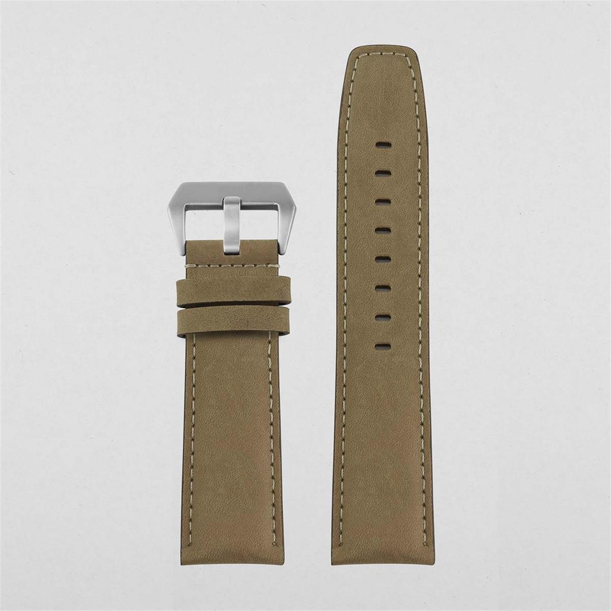 24mm Leather Watch Strap