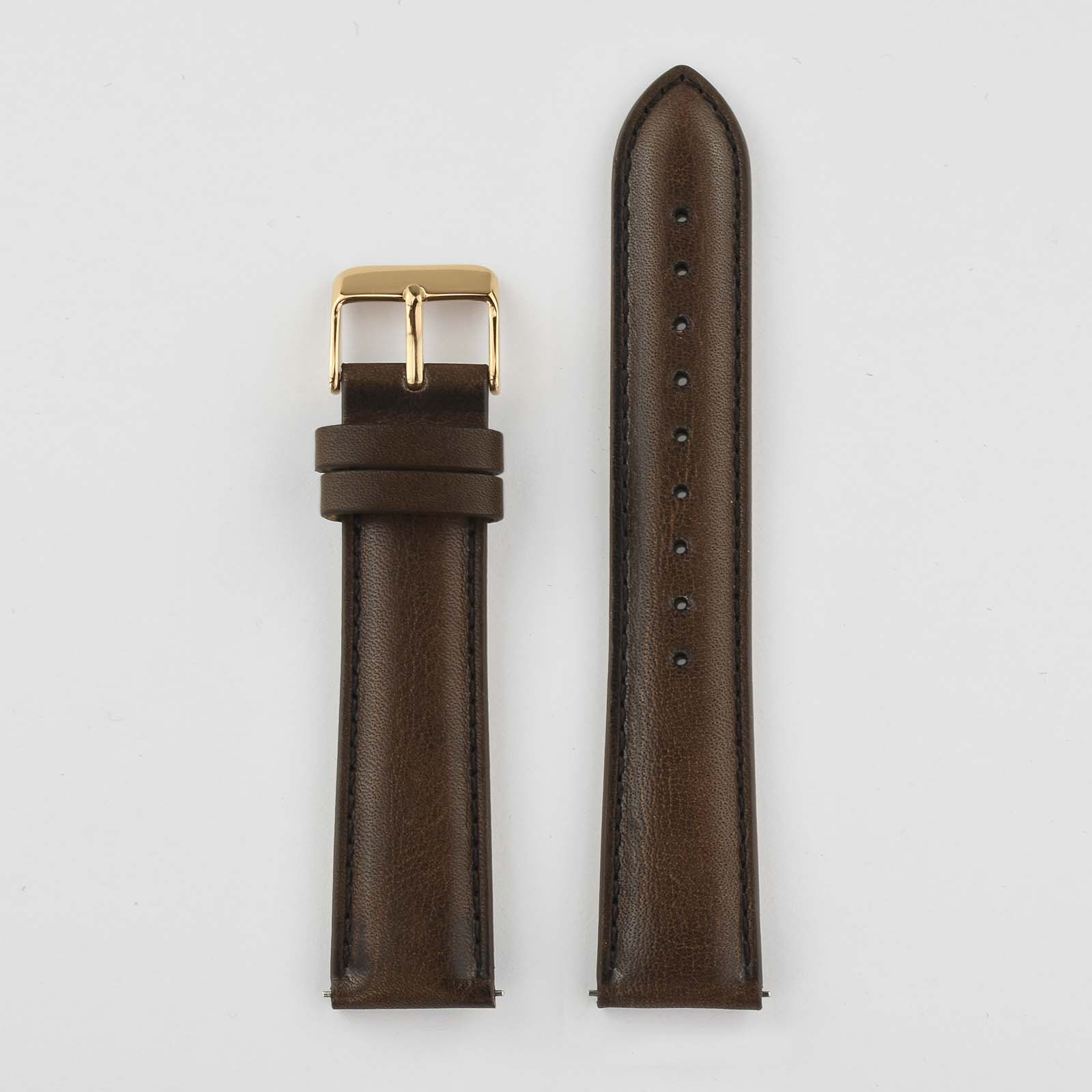 Soft Leather Watch Strap