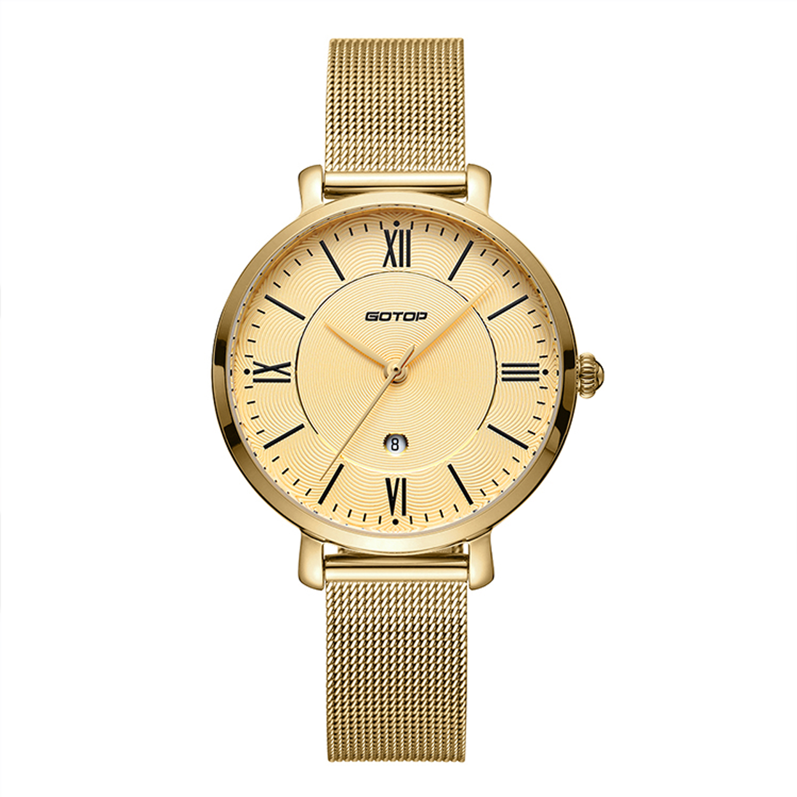 All Gold Stainless Steel Women's Watch