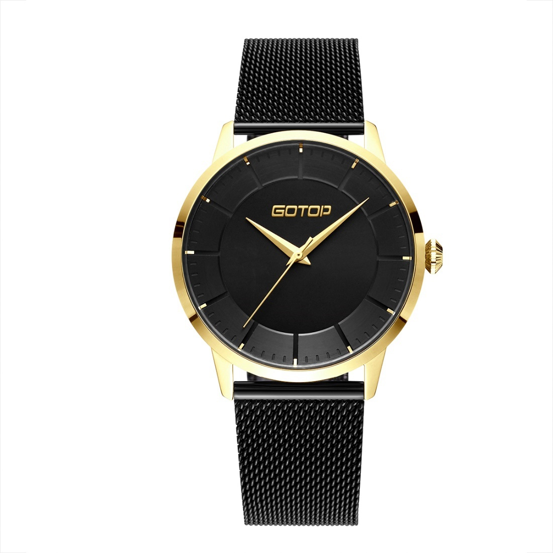 Black And Gold Watch For Women